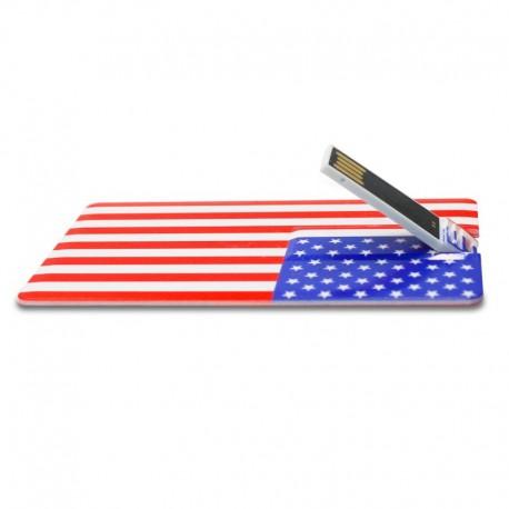 clé usb drapeau américain