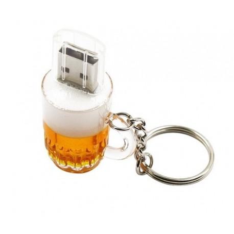 Clé usb bière